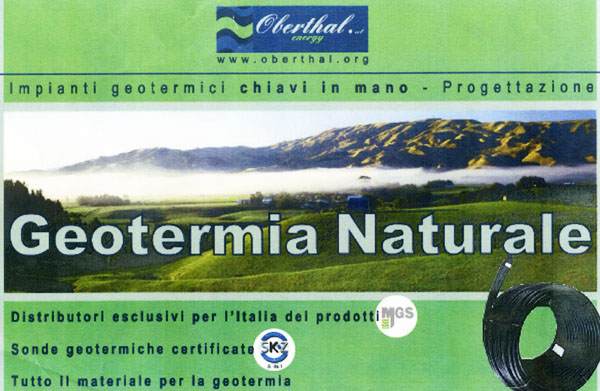 geotermia naturale