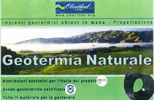 geotermia naturale