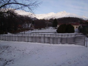 palizzata energetica in inverno
